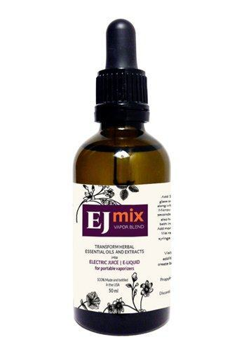 50ml bottle of Bloomsday EJMIX a liquid that transform herbal concentrates into e-liquid